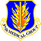 Logo: 97th Medical Group - Altus Air Force Base